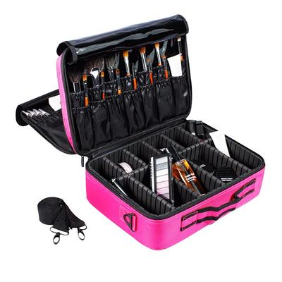 Elegant fashion design beauty brush cases & cosmetic brush bags professional beauty make up brush box