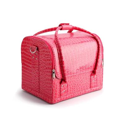 Wholesale PU Leather Beauty Makeup Cosmetic Case of High Quality