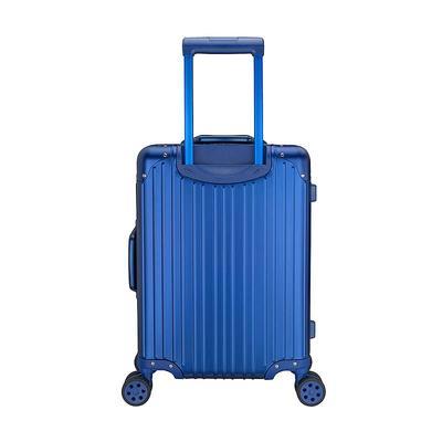 Classic luggage bag travelling aluminium suitcase