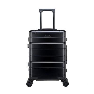 Fashion luggage box travelling aluminium alloy suitcase