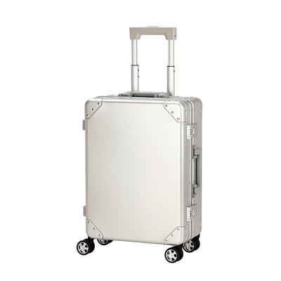 High-grade aluminum trolley case 24/26 inch Large capacity Universal wheel With Portable trunk
