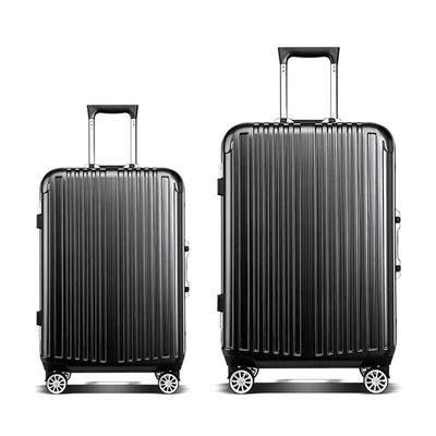 Aluminum Frame Luggage ABS + PC Material Hard Shell Trolley Luggage
